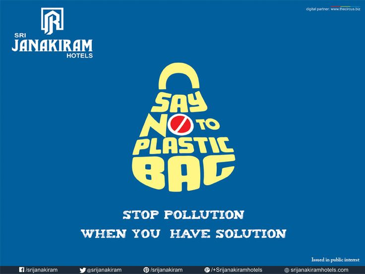 The environment has endured much cracks. Guys, its time to say NO to plastic carry bags. Think clean environment before having fun because, we cannot revert after devastation.  Plastic bags bring pain, to save environment, please abstain. #Srijanakiramhotels #saynotoplastics #Socialcause