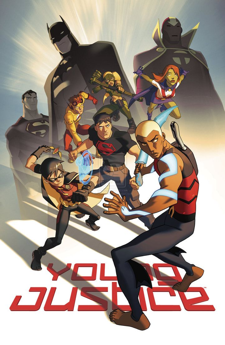 YOUNG JUSTICE Poster SDCC 2011 by *philbourassa on deviantART
