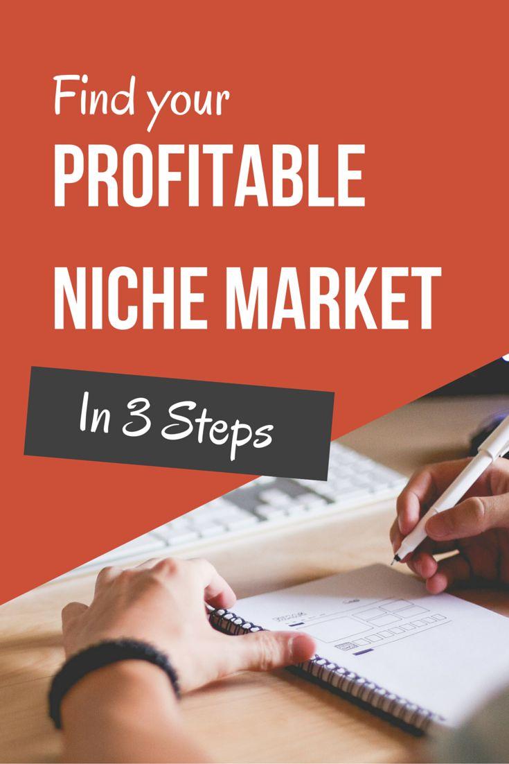 Find Your Profitable Niche Market in 3 Steps