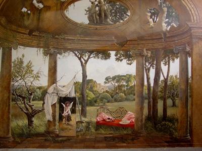 17 best images about trompe l 39 oeil murals on pinterest. Black Bedroom Furniture Sets. Home Design Ideas