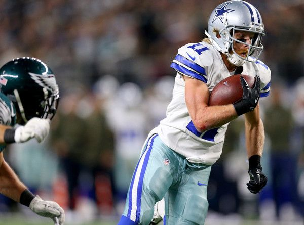 Cole Beasley Photos Photos - Cole Beasley #11 of the Dallas Cowboys scores a touchdown against the Philadelphia Eagles in the third quarter at AT&T Stadium on November 8, 2015 in Arlington, Texas. - Philadelphia Eagles v Dallas Cowboys