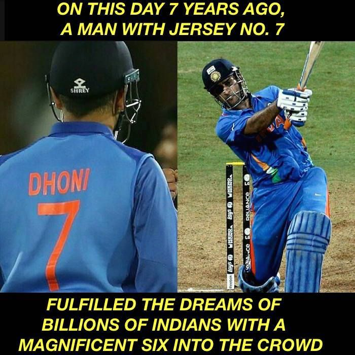 Onthisday In 2011 Ms Dhoni S Winning Shot Sent Billions Of Indians Into Jubilation Facebook Com Mycrickettrolls Sports Hero World Cricket Dhoni Wallpapers