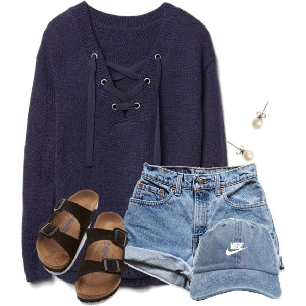 ~w e d n e s d a y~ by flroasburn on Polyvore featuring polyvore, fashion, style, Gap, Levi's, Birkenstock, J.Crew and clothing