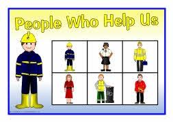 People who help us bingo (SB4510) - SparkleBox