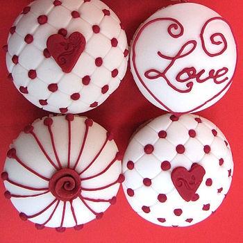 h3-o cupcakes: CUPCAKES PARA SAN VALENTIN