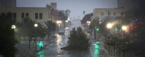 L'ouragan Harvey s'abat sur le Texas - Le Temps