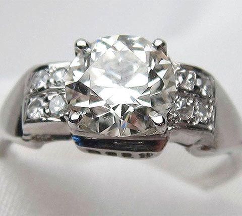 152 best images about vintage antique engagement rings