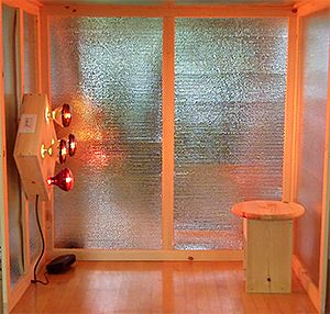 Near Infrared Eco Sauna Bright Sauna Detoxifies And Incandescent Lighting Fights Seasonal