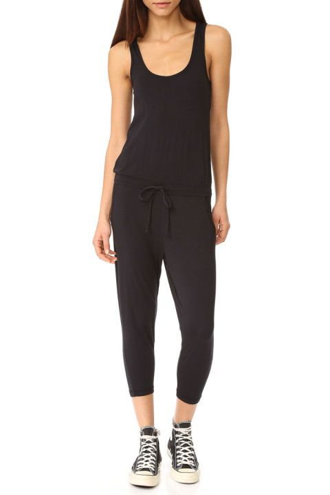 $71 BUY NOW This casual jumpsuit is the perfect uniform for a Saturday morning. Just throw it on with a baseball cap and sneakers, and you're ready for a coffee and bagel run.