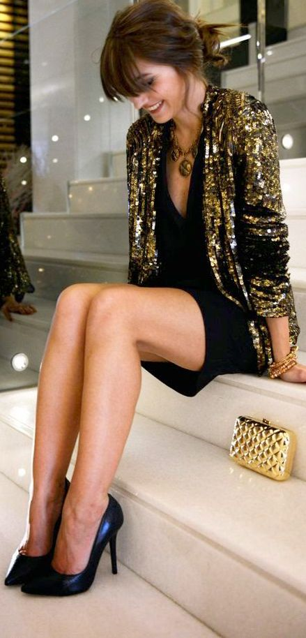 Sequin blazer going to get one i have a ugly black dress that i need to spice up: