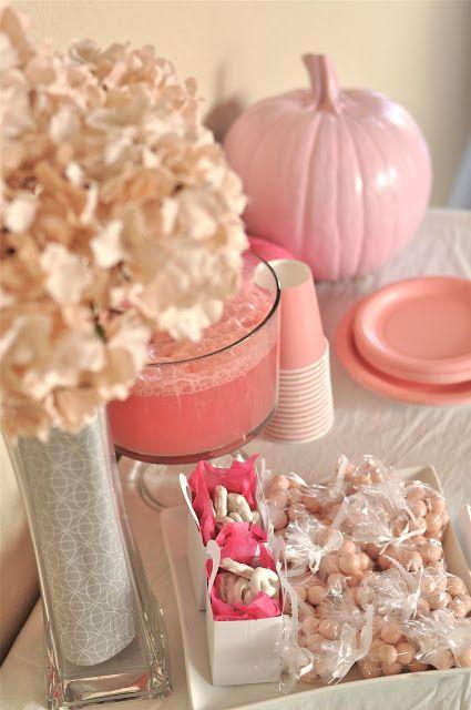 {MY PARTIES} little pumpkin girl baby shower - Creative Juice