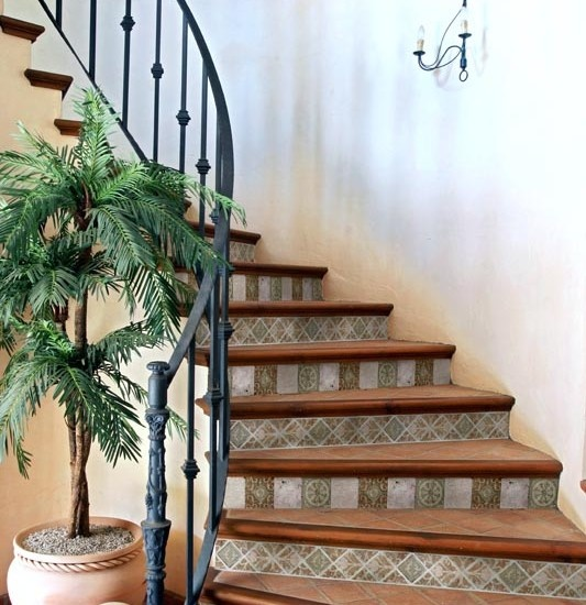 1000 images about mediterranean stairs on pinterest for Decoration escalier