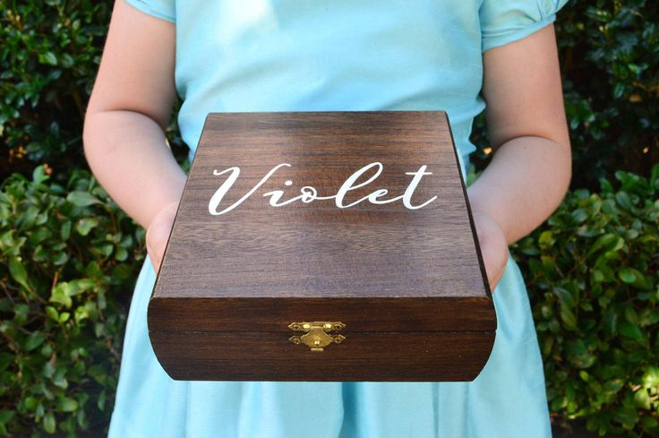 Bridesmaid Keepsake Box || Wedding Gift || Wedding Party Gift || Rustic Wedding || Wood Box || Maid Of Honor Gift || Wedding Present by TinaGoodmanDesigns on Etsy https://www.etsy.com/listing/467554894/bridesmaid-keepsake-box-wedding-gift