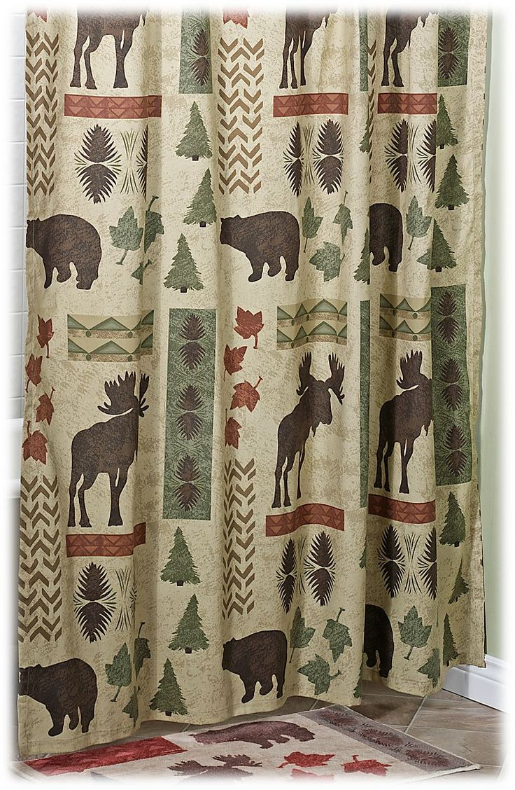 Country bathroom shower curtains - Bacova Big Country Shower Curtain Bass Pro Shops