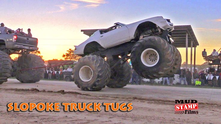 SLOPOKE TRUCK TUGS- TRUCKS GONE WILD 2016