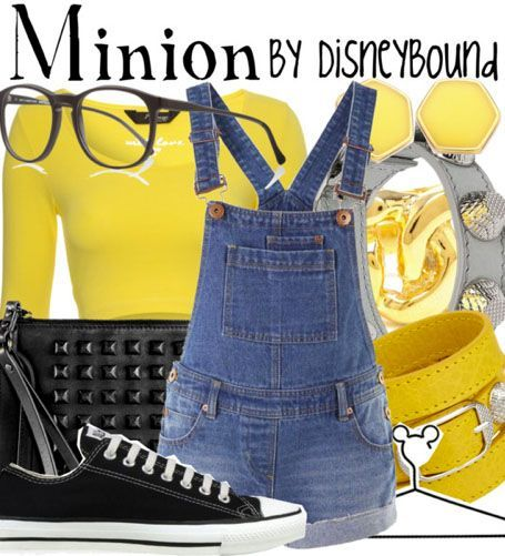 Disney Bound - Minion (Despicable Me) @Anna Totten Totten Totten Totten Thornton This reminds me of you :)