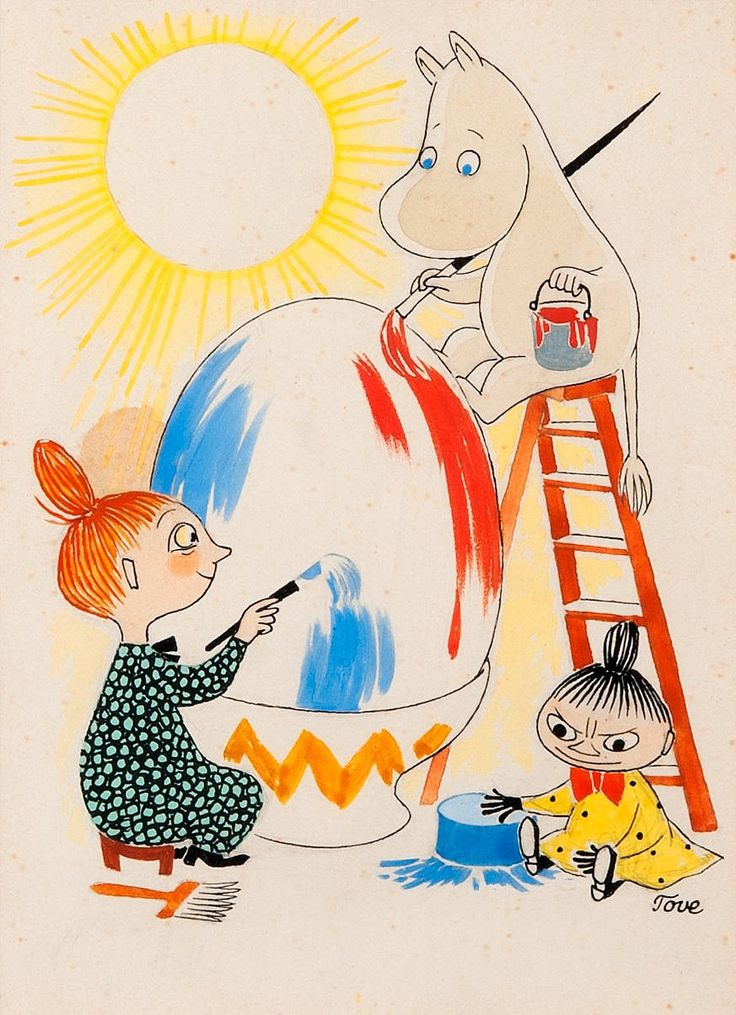 Tove Jansson. Easter