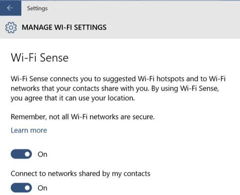 PCGamer.com/*** Windows 10's Wi-Fi Sense Feature Shares your Wi-Fi etwork—but only if you tell it to