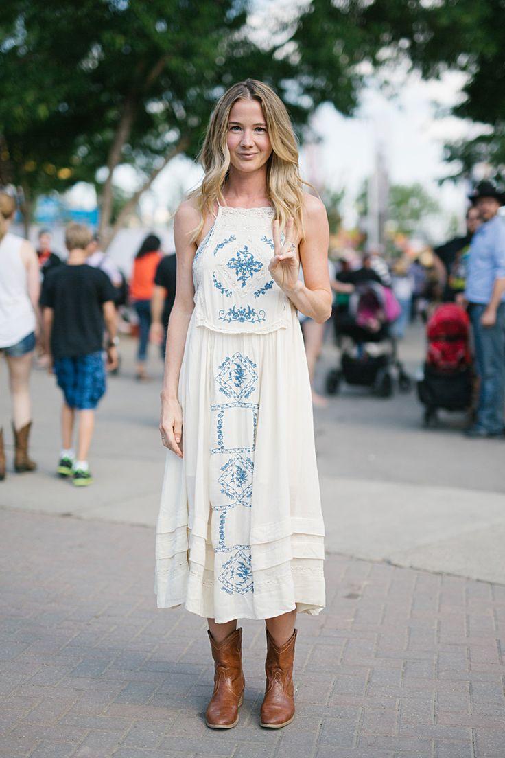 White dress boots - Fashion Clue Www Fashionclue Net Ankle Cowboy Bootswhite Summer Dresseswhite