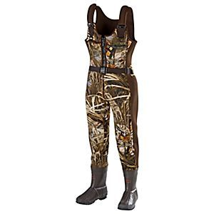SHE® Outdoor Waterfowl Boot-Foot Insulated Waders for Ladies - Realtree MAX-4® | Bass Pro Shops