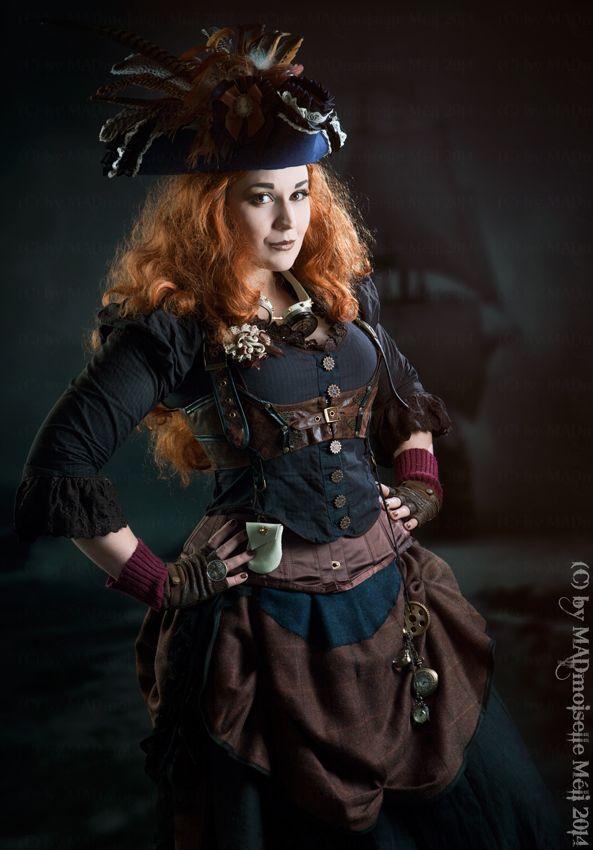 Steampunk Pirate by MADmoiselleMeli.deviantart.com on @deviantART