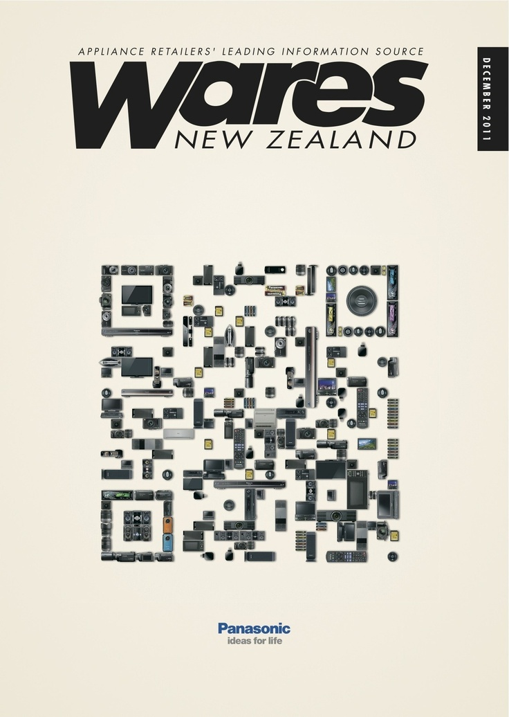 #QRcode Design Panasonic (New Zealand)
