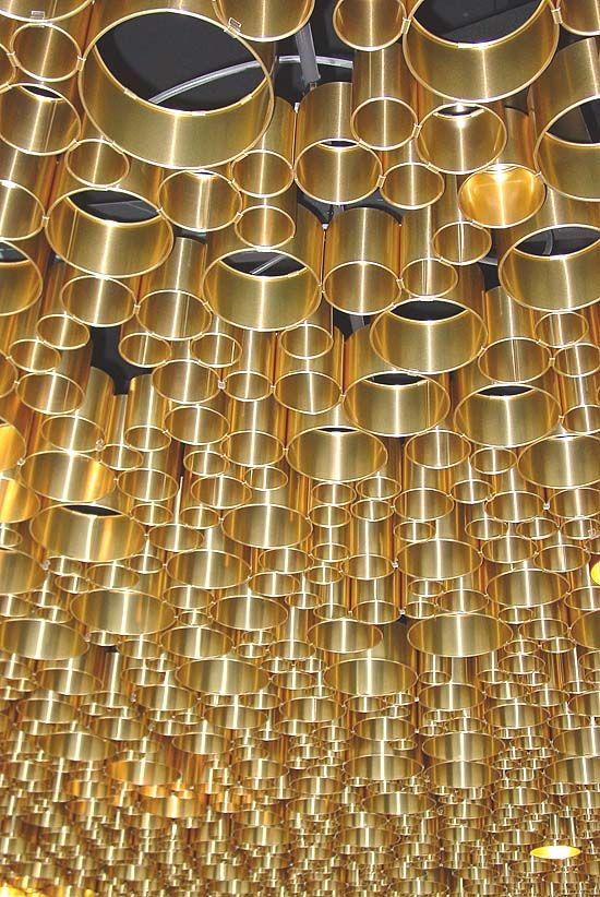 Accumulation au plafond : Jacques Herzog