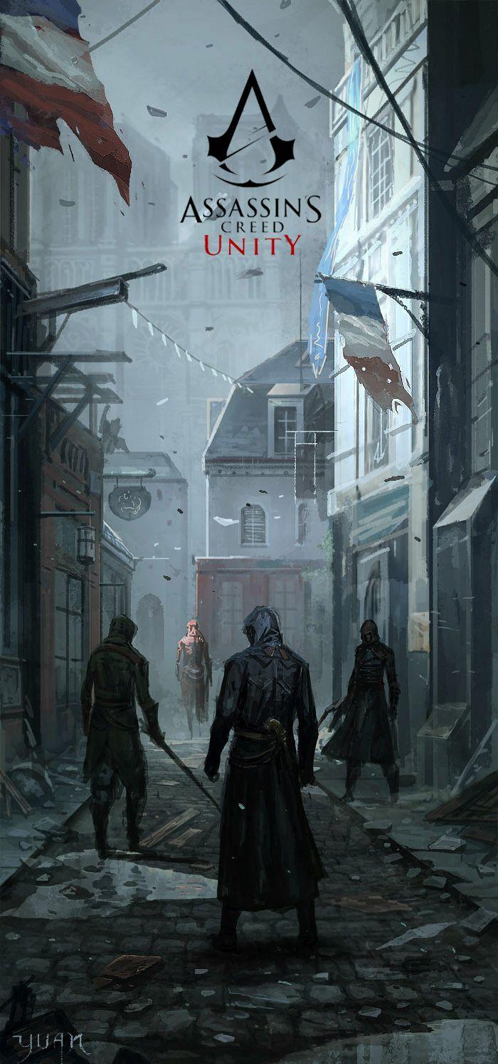 Assassin's Creed - Unity by ChaoyuanXu.deviantart.com on @deviantART
