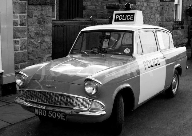 Ford Anglia 1960's Police Car JpM ENTERTAINMENT