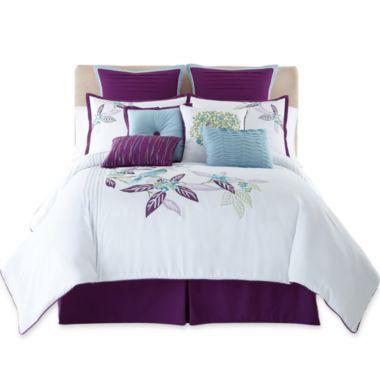 Tropical 10-pc. Comforter Set & Accessories