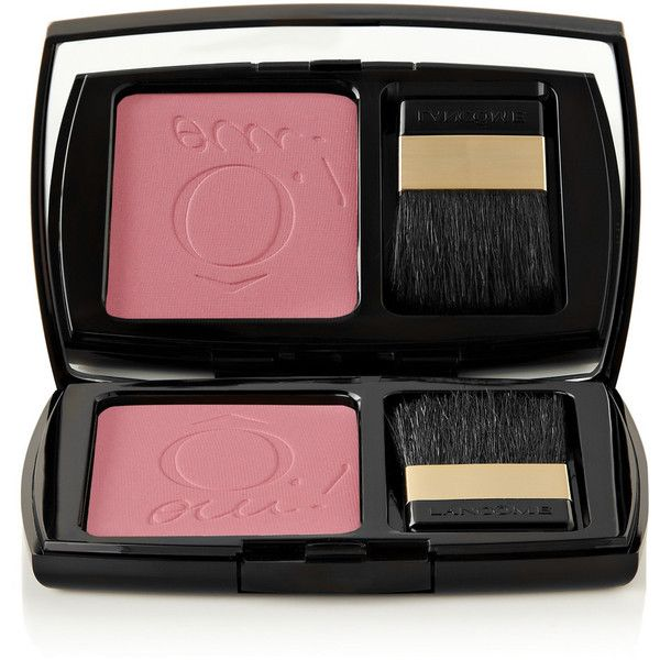 Lancôme Blush Subtil - Rose Aux Joues 026 (42 CAD) ❤ liked on Polyvore featuring beauty products, makeup, cheek makeup, blush, pink, pink blush, lancome blush, rose blush and lancôme