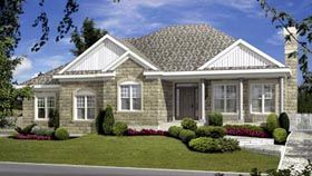 Elevation of House Plan 52769