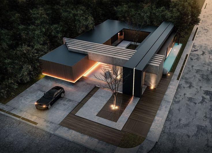 "23.4 mil curtidas, 103 comentários - ARCHITECTURE HUNTER (@architecture_hunter) no Instagram: ""#architecture_hunter  Villa H5, by @rasdreamhouses"""