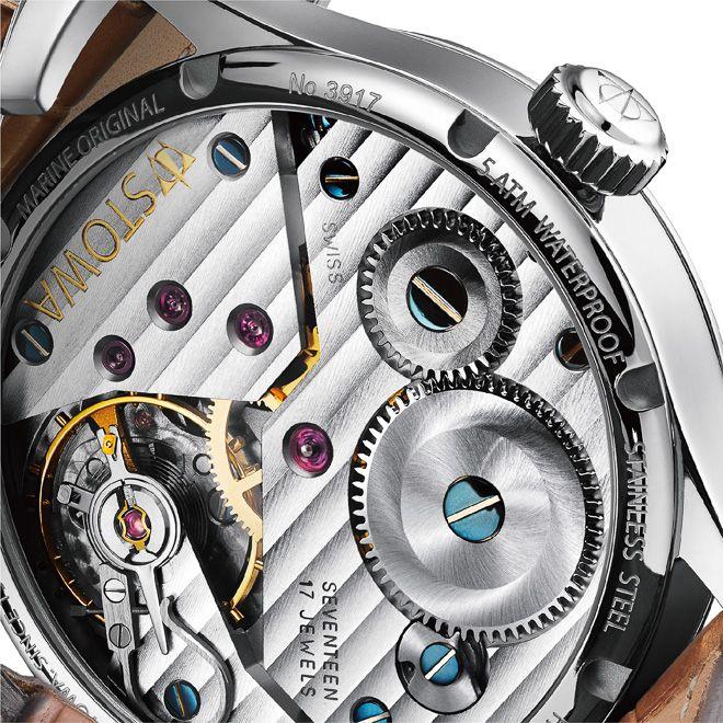 画像: 4/4【独ウオッチ「ストーヴァ」船舶用置き時計がモチーフの人気シリーズから限定モデルが登場】