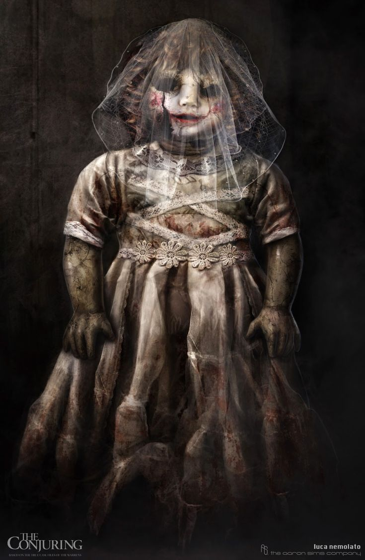 the conjuring doll | the conjuring annabelle doll Early Concepts For The Conjurings ...