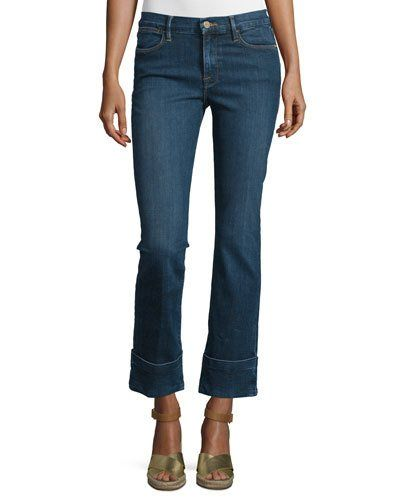 Frame+Denim+Le+High+Cuffed+Ankle+Jeans+Ardmore+|+Pants,+Clothing+and+Workwear