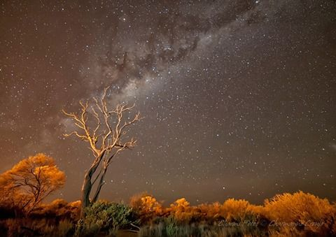 I wish all kiddies got to stare at the Milky Way in Outback SA!! Thanks so much to Charms Fotos - Charmayne Cronje for sending this shot thru from Roxby Downs!! (from South Aussie with Cosi)