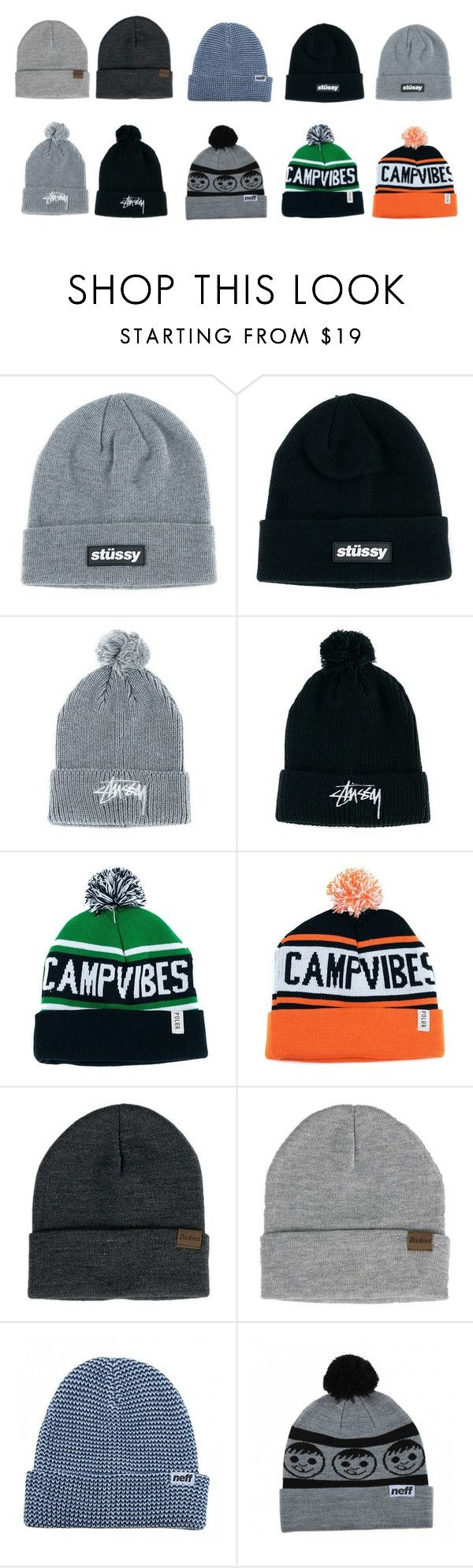 Loads Of Beanies On Our Website. Need To Keep That Head Warm Over Winter. by blacksheepstore on Polyvore featuring Stussy, Neff and Dickies