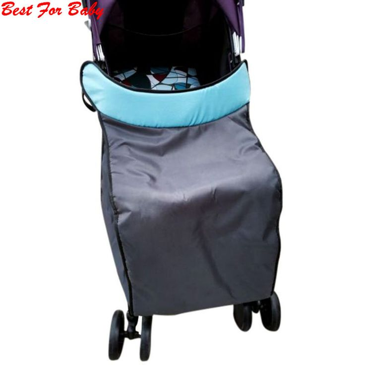 2017 Baby Pushchais Strollers Cover Pram Cold Protection Bag Wind Shield Rain Covers New