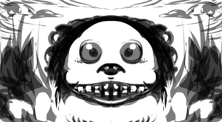 Hi. Little monster sketch.