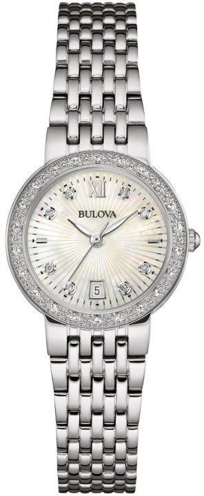 @bulova Watch Diamond #bezel-diamond #bracelet-strap-steel #brand-bulova #case-depth-6-8mm #case-material-steel #case-width-26mm #date-yes #delivery-timescale-call-us #dial-colour-white #fashion #gender-ladies #movement-quartz-battery #official-stockist-for-bulova-watches #packaging-bulova-watch-packaging #style-dress #subcat-diamond #supplier-model-no-96w203 #warranty-bulova-official-3-year-guarantee #water-resistant-30m