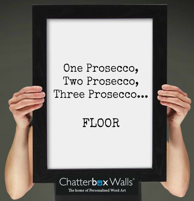 Beautiful Personalised Word Art Prints & Canvases. Easy to Create & Preview On Screen Before You Buy. A perfect gift for any occasion. From £14.99 with Fast Free Delivery. Design & order yours at www.chatterboxwalls.co.uk #wordart #quotes #typography #personalisedgift #wallart #prosecco
