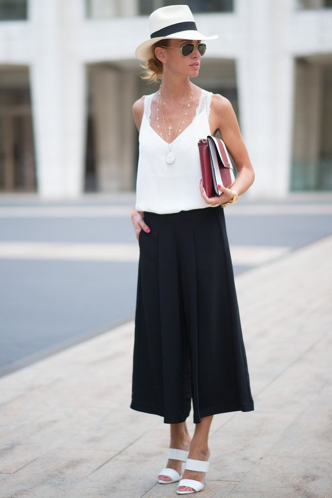 Best #streetstyle @ Spring 2015 REady-to-Wear #NYFW