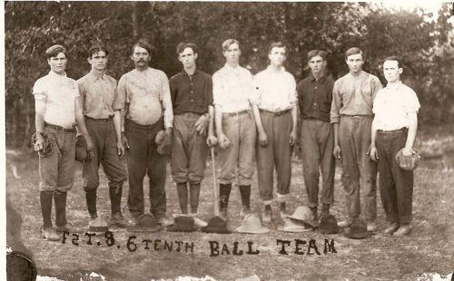 William Abbott & the Ball team