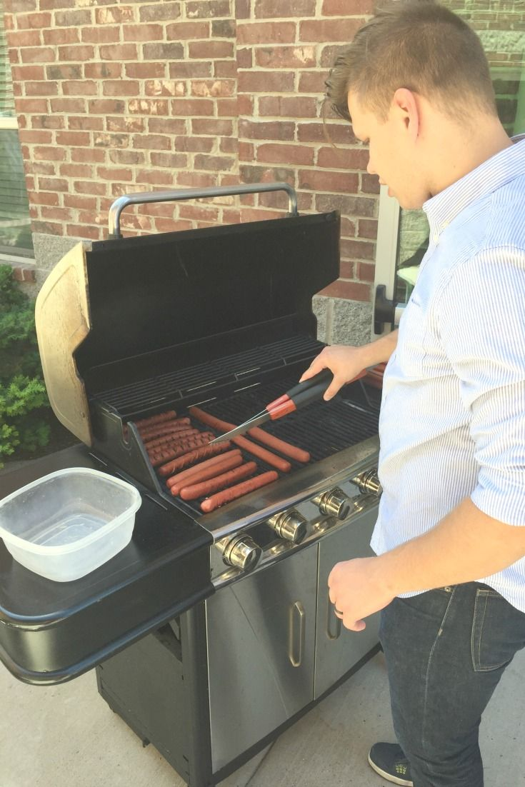 Summer done right. Thanks, Grillmaster Michael! #circlepix #office