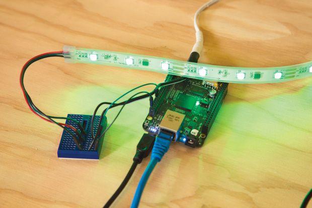 Internet Speedometer using BeagleBone Black