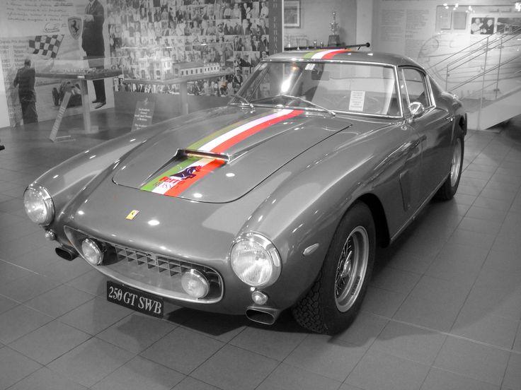 Ferrari 250 SWB at the Ferrari Museum in Maranello.