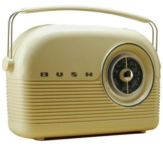 Buy Bush Classic Retro DAB Radio - Classic Cream at Argos.co.uk, visit Argos.co.uk to shop online for Radios, Home audio, Technology