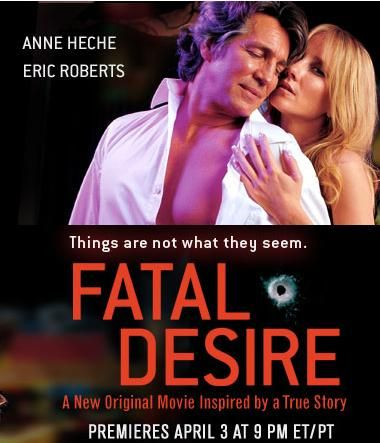 Fatal Desire -A sexy vixen entices her internet lover to murder her husband.  Based on the real life story of Sharee Miller, and it is based on the book Fatal Error.