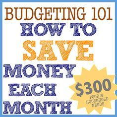 just Sweet and Simple: Budgeting 101. Good ideas we can do